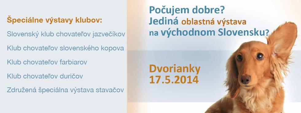 OV Dvorianky, 17.5.2014
