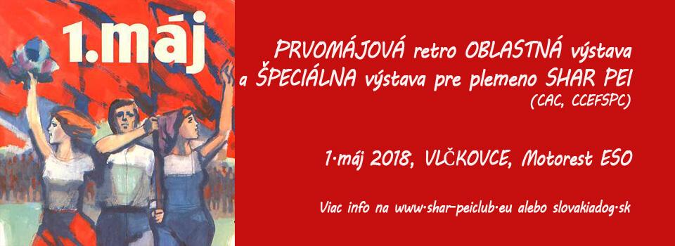 Prvomajova retro oblastna vystava 2018